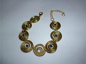 Видеоурок: создаем браслет «Элегантная роскошь». Ярмарка Мастеров - ручная работа, handmade.