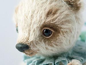 Вышиваем и вощим носик мишки тедди. Часть 1 — вышивка. Ярмарка Мастеров - ручная работа, handmade.