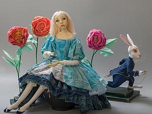 Алиса и ее друзья на Весеннем Балу Кукол!   Ярмарка Мастеров - ручная работа, handmade