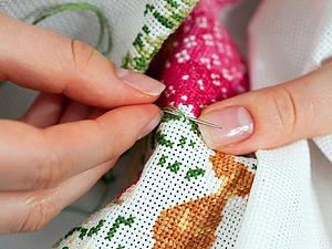 Маленькие полезные хитрости при вышивании крестом. Ярмарка Мастеров - ручная работа, handmade.