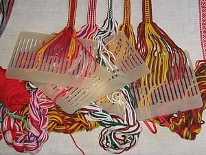 Ткачество на бёрдышке. | Ярмарка Мастеров - ручная работа, handmade
