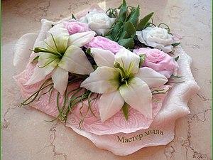 Мастер класс по изготовлению мыльной лилии, handmade
