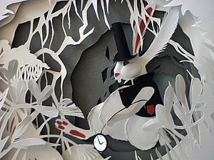 Белый Кролик | Ярмарка Мастеров - ручная работа, handmade