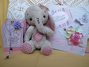 Ко мне приехала слоняша Лиа! | Ярмарка Мастеров - ручная работа, handmade