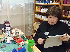 Отчёт МК народные куклы, игрушки -