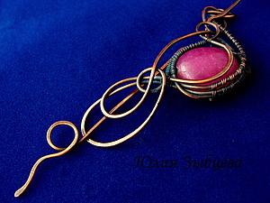 Мастер-класс для начинающих по проволоке (wire wrap) | Ярмарка Мастеров - ручная работа, handmade