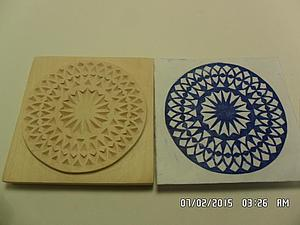Как сделать без краски отпечаток штампа на бумаге. Ярмарка Мастеров - ручная работа, handmade.