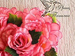 МК - Цветочная Валентинка - продолжение | Ярмарка Мастеров - ручная работа, handmade