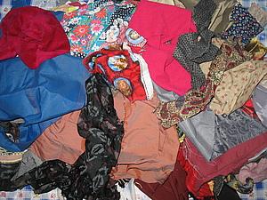 Отдам мешок с лоскутками ткани. Санкт-Петербург. | Ярмарка Мастеров - ручная работа, handmade