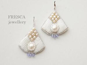Earring Pearls   Ярмарка Мастеров - ручная работа, handmade