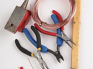 Проволока без проволОчек. Часть 2: инструментарий для проволоки | Ярмарка Мастеров - ручная работа, handmade