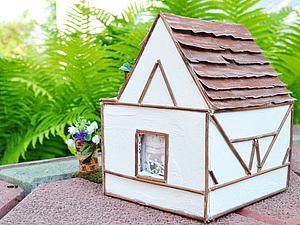 Видеоурок: кукольный домик из коробки. Часть 1. Ярмарка Мастеров - ручная работа, handmade.