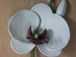 изготовление орхидеи | Ярмарка Мастеров - ручная работа, handmade