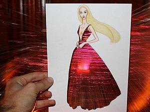 Эскизы необычных платьев от fashion-иллюстратора Edgar Artis | Ярмарка Мастеров - ручная работа, handmade