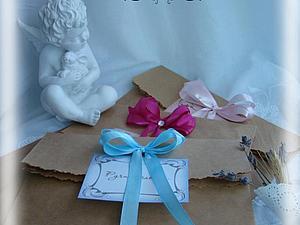 Делаем подарочные пакеты из крафт-бумаги | Ярмарка Мастеров - ручная работа, handmade