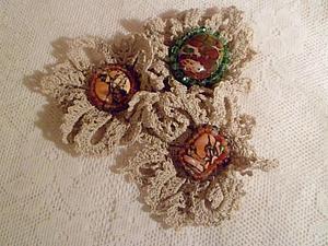 Моя первая конфета, Бохо-брошь   Ярмарка Мастеров - ручная работа, handmade