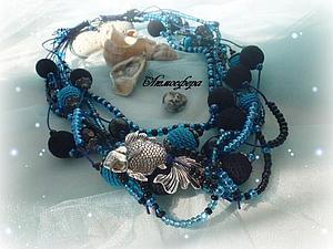 Новое украшение на Морскую тему | Ярмарка Мастеров - ручная работа, handmade