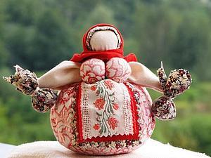Традиционная кукла (Кубышка-Травница) | Ярмарка Мастеров - ручная работа, handmade
