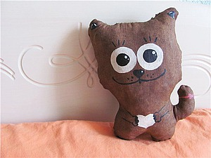 Тонируем текстильную игрушку с помощью кофе. Ярмарка Мастеров - ручная работа, handmade.
