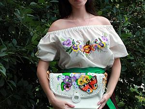 Аукцион одного дня! Блузка и сумочка про лето!   Ярмарка Мастеров - ручная работа, handmade