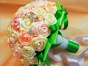 Как сделать Свадебный Букет своими руками. Ярмарка Мастеров - ручная работа, handmade.