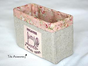 Коробочка для рукоделия своими руками. Ярмарка Мастеров - ручная работа, handmade.