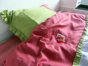Льняное дизайнерское постельное белье для малышей и взрослых   Ярмарка Мастеров - ручная работа, handmade