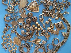 Аукцион с нуля на 200 г фурнитуры (латунь) | Ярмарка Мастеров - ручная работа, handmade