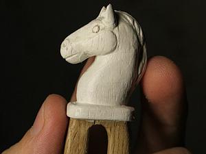 Новогодний Аукцион!!! Заколка Лошадка   Ярмарка Мастеров - ручная работа, handmade