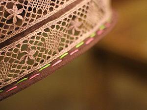 Декорируем текстильный плафон. Ярмарка Мастеров - ручная работа, handmade.