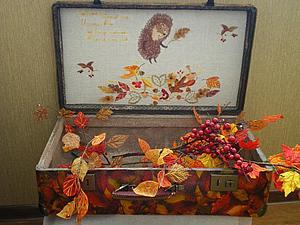 Мастерим осенний чемодан. Ярмарка Мастеров - ручная работа, handmade.