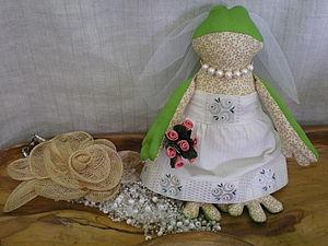 Тильда Лягушка-невеста.. Ярмарка Мастеров - ручная работа, handmade.