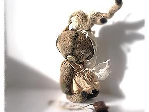 Трогательный Зайка | Ярмарка Мастеров - ручная работа, handmade