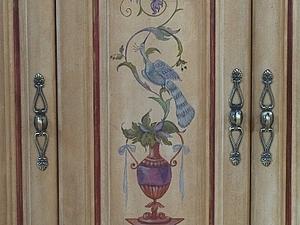 Мастер-класс по росписи мебели. Вазы   Ярмарка Мастеров - ручная работа, handmade