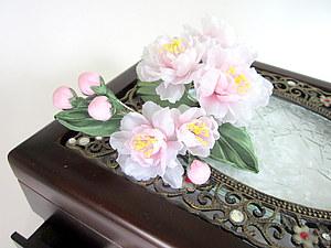 Сакура из шелка, handmade