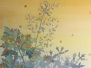 19 марта, четверг. Роспись шелка, холодный батик, мк | Ярмарка Мастеров - ручная работа, handmade
