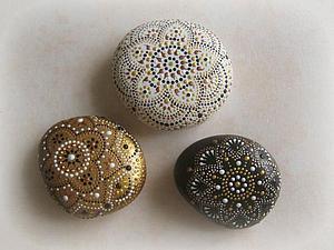 Мои расписные камушки   Ярмарка Мастеров - ручная работа, handmade