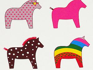 Микро - акция на купон с конями :)   Ярмарка Мастеров - ручная работа, handmade