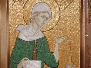 Рельефное изображение силуэта в ручной вышивке гладью. Ярмарка Мастеров - ручная работа, handmade.