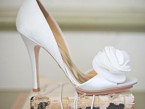 Украшение на туфли | Ярмарка Мастеров - ручная работа, handmade