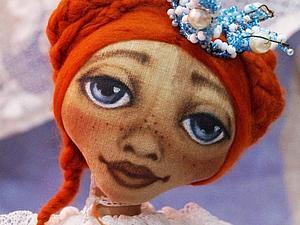 Мастер-класс: чердачная принцесса Ангелинка. Ярмарка Мастеров - ручная работа, handmade.