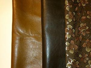 Материалы для сумок и блокнотов из кожи   Ярмарка Мастеров - ручная работа, handmade