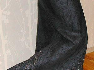 Цельноваляная юбка с молнией (разрез, шлица)   Ярмарка Мастеров - ручная работа, handmade