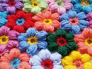 Пышные цветочки | Ярмарка Мастеров - ручная работа, handmade