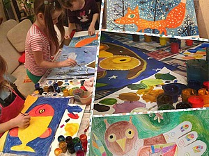 Рисуем с Марией Пожарской. Вместе с детьми)   Ярмарка Мастеров - ручная работа, handmade