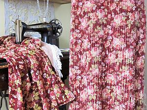 Шьем юбку по косой в технике синель. Ярмарка Мастеров - ручная работа, handmade.