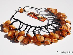 Украшение из пуговиц | Ярмарка Мастеров - ручная работа, handmade