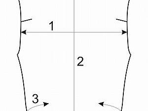 Как снять размеры для байкерского жилета | Ярмарка Мастеров - ручная работа, handmade
