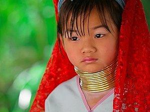 Племя длинношеих женщин в Таиланде | Ярмарка Мастеров - ручная работа, handmade