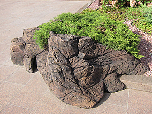 Камни из бетона своими руками
